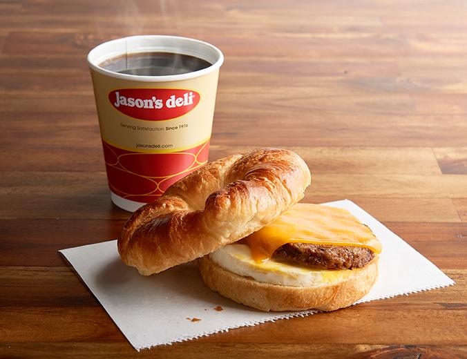 photo about Jason's Deli Printable Menu titled Breakfast Jasons Deli