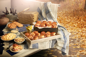 Hot Sliders Tailgate Package
